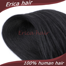 Free Ship 7A Indian Virgin Micro Loop Hair Extensions 0.5g /stand 50g/pack 14-26 inch Keratin Micro loop Remy Human Hair