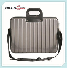 "14"" waterproof and shockproof aluminum hard shell laptop case"