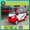 Smart electric car with golf bag holder