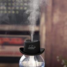Cowboy Cap USB Mini Portable Air Humidifier,Mini Cool Mist Humidifier Aromatherapy