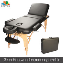 Salon furniture table de massage portable massage table