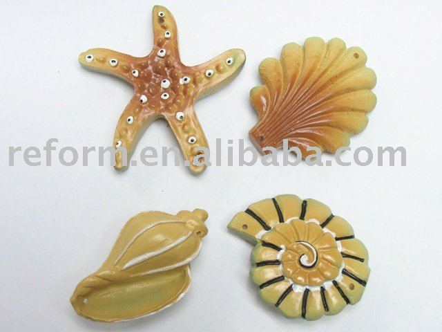 Lovely Starfish & Shell Resin Crafts