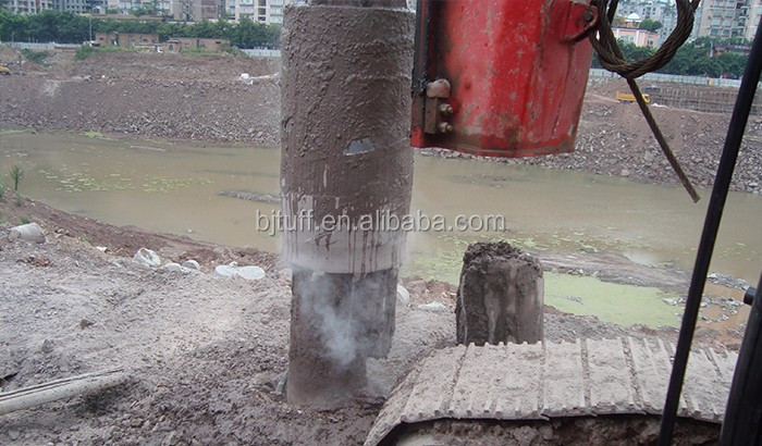 Rotary rig drilling head rock drilling core barrel for coring