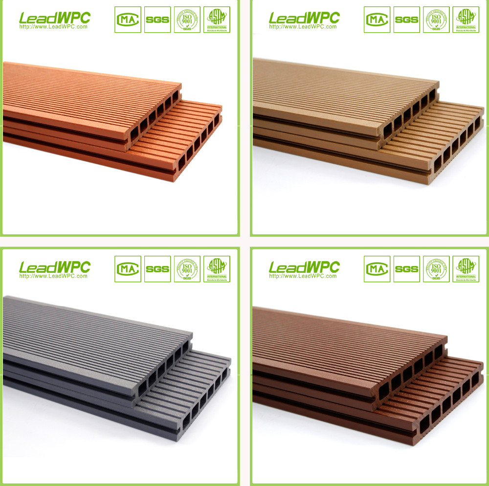 Deck wpc solid decking ,wpc ,wood plastic composite, view outdoor ...