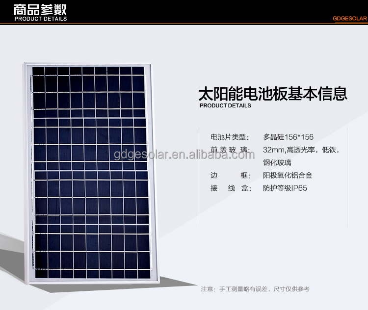 suntech poly solar panel 130 W for solar panel manufacturer