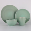 Light green ceramic dinnerware diner set plates sets dinnerware