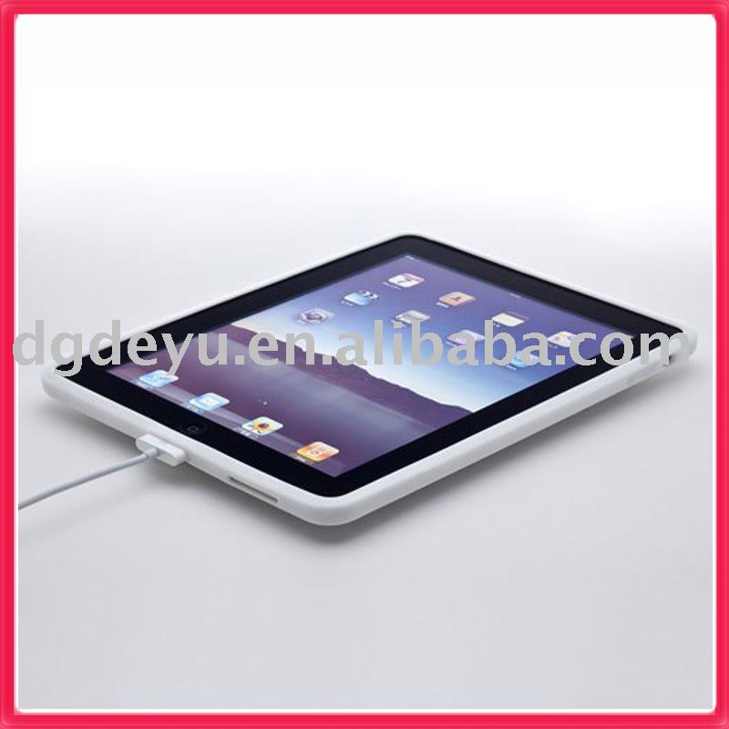 PROTECTOR Simplism Silicone Case Set for iPad white