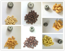 Cheese Puff Crisps production line /Corn Puffs Snack food processing line/core-filling snack food machine