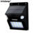 IP65 Waterproof outdoor solar motion sensor wall light for garden lighting and decoration