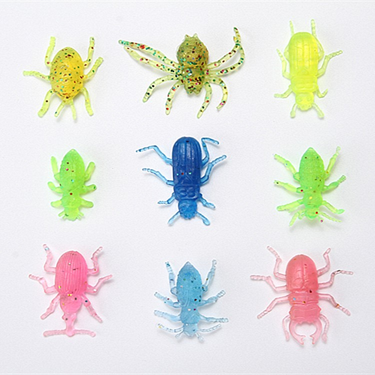2018 Hot Sale Soft New Kind Plastic Insect forest Animals Toys