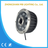 surface mounting swimming pool IP68 LED rgb underwater light