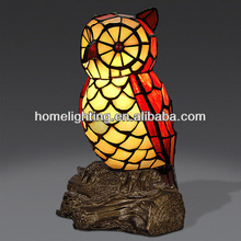 TFN-2520 stained glass bronze art deco animal tiffany lamps