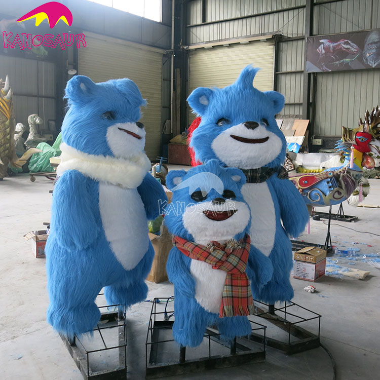 KANO5633 playground kids attraction cute animatronic bear
