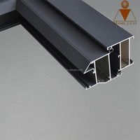 Aluminum shower door frame