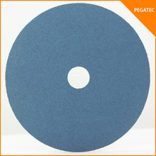 PEGATEC Zirconia sanding paper disc fiber sanding disc for polishing stainless steel