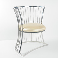 luxury dining chair home office furniture/stainless steel dining chair