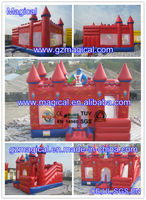 jumping castle/ bouncing castle/inflatable castle house for play
