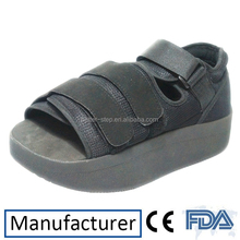 Square Toe Heel Wedge Off Load Orthopedic Post Operative Shoes