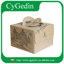 Recyclable Folding Cake Packaging Box Pvc Box