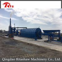 Latest technology used tyre oil retreading machines/waste tire recycling to fuel oil pyrolysis plant