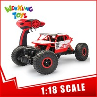 1:18 scale rc cars rechargeable electric rock crawler off road toy