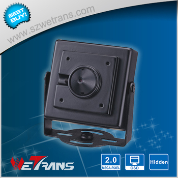 Very Small Case HD 1080P 3.7mm pinhole lens Support POE Onvif IP mini camera