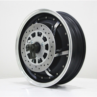 2000w 2500w Electric Motorcycle Brushless wheel Hub Motor 13inch
