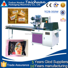TCZB-350W Full automatic frozen foods/angus beef steak horizontal flow packaging machine OEM price