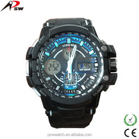 brand model multifunction hard plastic sports man set digital wrist watch