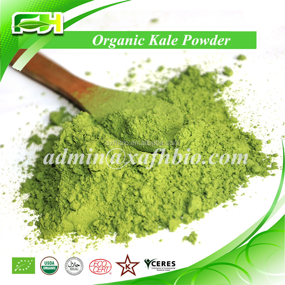 2015 New Superfood Certified Organic Kale <strong>Powder</strong> (100 grams of samples free of charge)