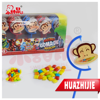 New Colorful Hello Monkey Toys Candy / Mini Bubble Gum