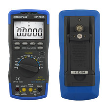 HoldPeak HP-770D Multimetro Digital Multimeter Auto Range True RMS Frequency/ Temperature Tester and Carry Bag
