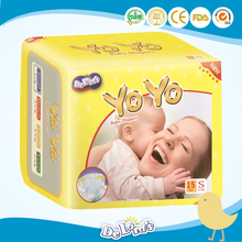 2017 new style sleepy baby diaper, disposable baby diaper made in China