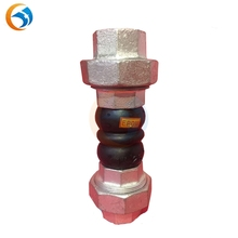 UAE china supplier laboratory compeititive price thread rubber expansion joint for sanitary