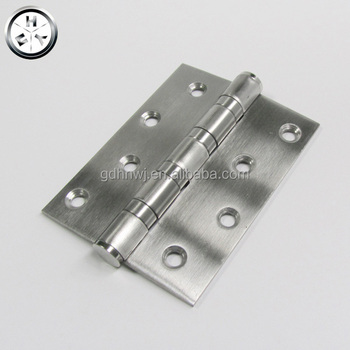 Discount promotion iron ball bearing door hinge anti brass