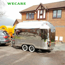 WECARE factory made cost effective coffee trailer in UK