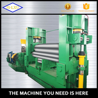 High quality 3 roller sheet metal cone rolling machine