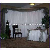 High quality and telescopic pipe and drape for wall decoration