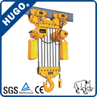 HYS 15 ton Electric Chain Hoist with Carburizing chain