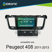 iokone dashboard touch screen car radio dvd audio gps navigation for Peugeot 408 508 2011 2012 2013