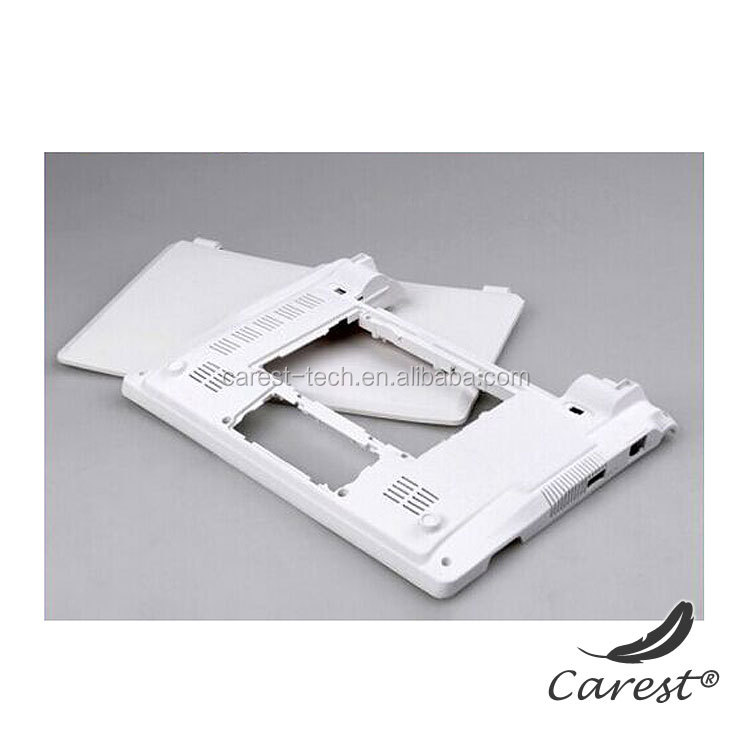 OEM Customized injection molded plastic component for computer shell