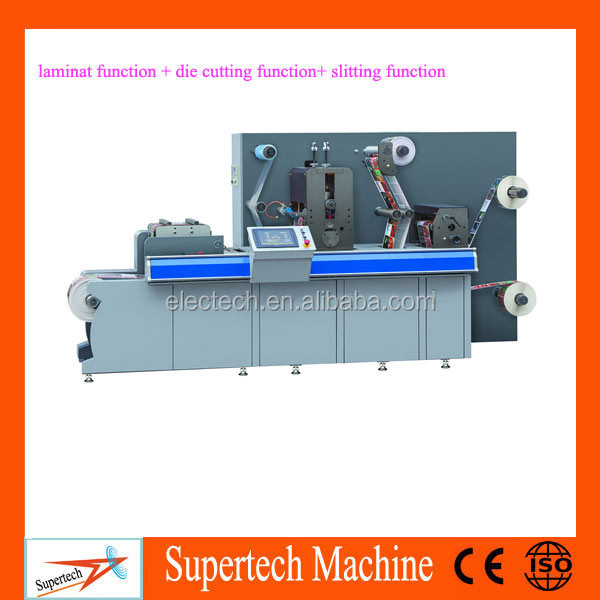 Multifunction Automatic Digital Adhesive Label Die cutting Machine , Label die cutter