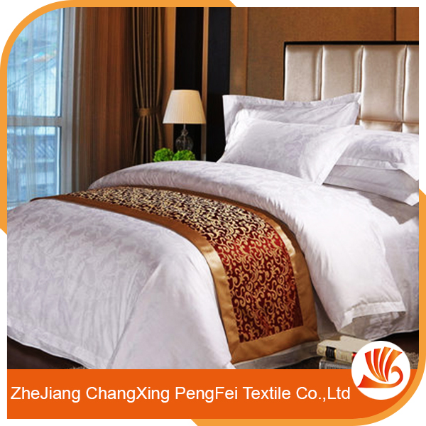 Online shopping quality 100% polyester hotel bed sheet fabric