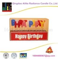 2016 new designed colored birthday candle