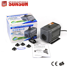 24v 2000L/h Multi-Function Submersible Aquarium Pump for Pumping and Fountain Pond