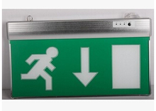 factory price wholesale price acrylic exit sign emergency lighting exit sign board