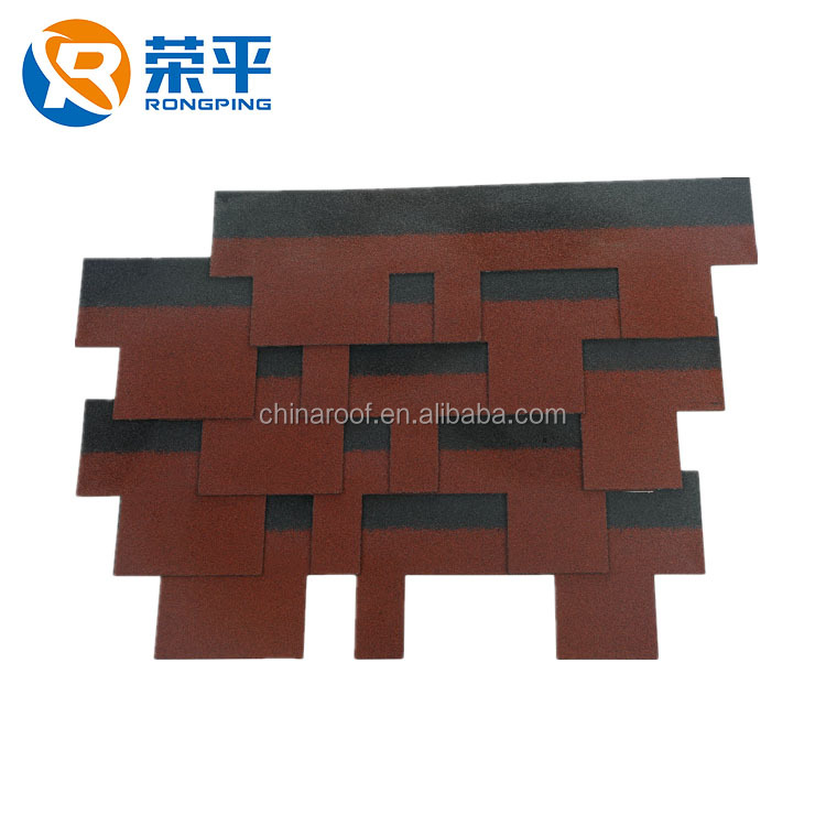 Geothe Fiberglass Asphalt Shingles for Roofing Made in China