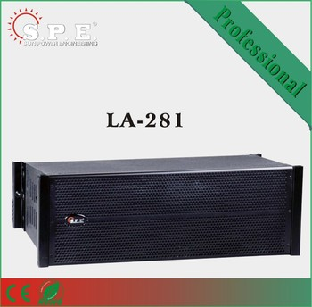 Professional double 8inch mini Line Array speaker New product