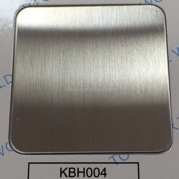 201 Stainless Steel Color KBH004 Hairline Sheet