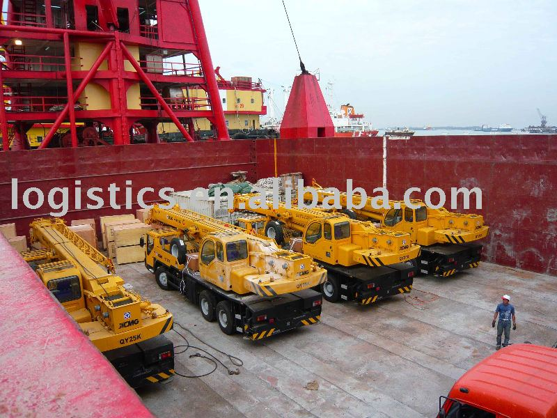 Break bulk/project shipping/Ro-Ro/heavy lift shipping from China main ports Tianjin Shanghai - Bobby